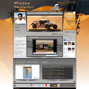 Dakar champion Webdesign and developement (Etienne smulevici)