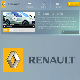 Renault application Design