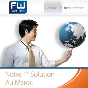 Job recruitment Webdesign (FindWork) – 2010