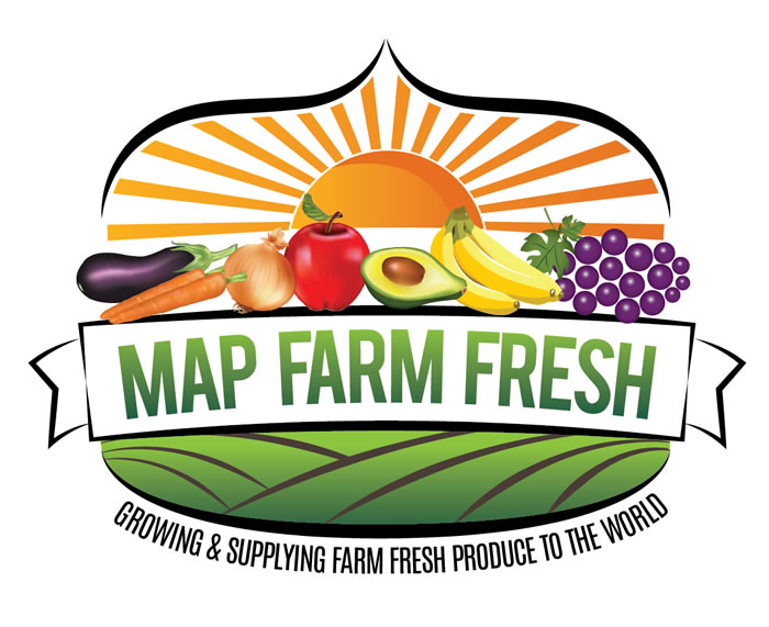 FARM FRUITS VEGETABLES LOGO