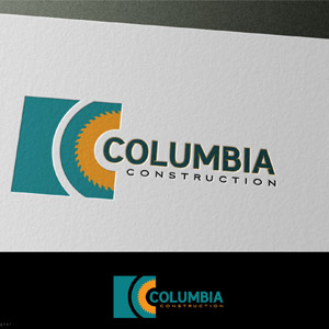 Logo band-mill / Saw-mill Company – Columbia Construction