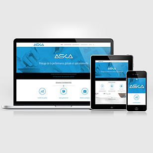 ASKA – Responsive Site [Web Design + Logo Design + Web Developement]