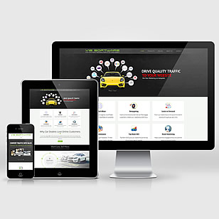 Car Dealers Services – Responsive UX / UI Design + LOGO + Dev
