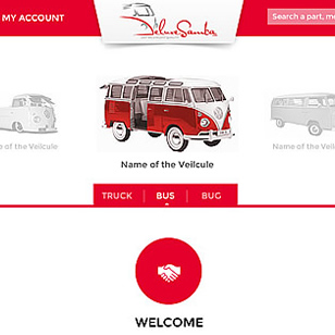 UX UI Design – VW Parts – P2