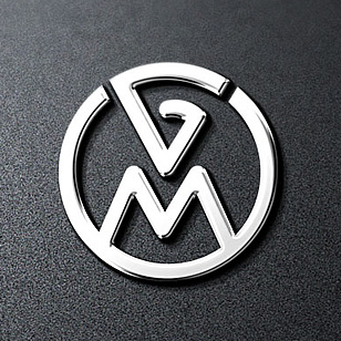 VW Old Cars Parts Logo