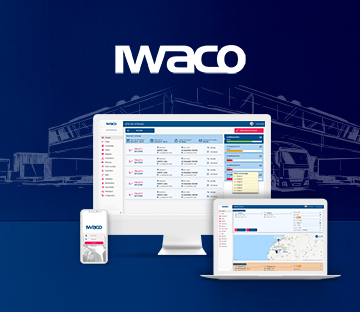 IWACO – TMS (Transport Management System) UX Strategry, & Protoype UX UI Mobile app + Backoffice (Dashboard)