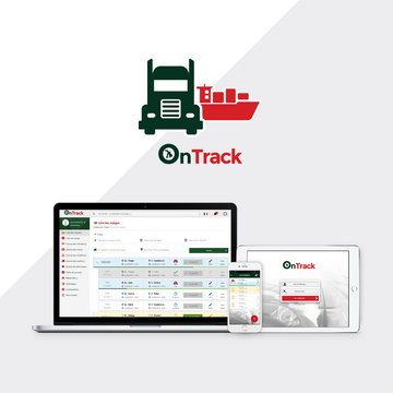 OnTrack – Logistic TMS Transport Management system (UX Strategy + UI Design for 2 Mobile Apps and Web Admin)